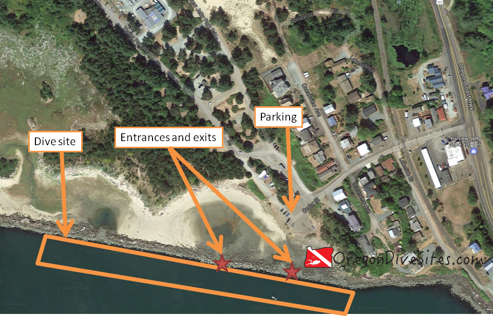 barview jetty site plan
