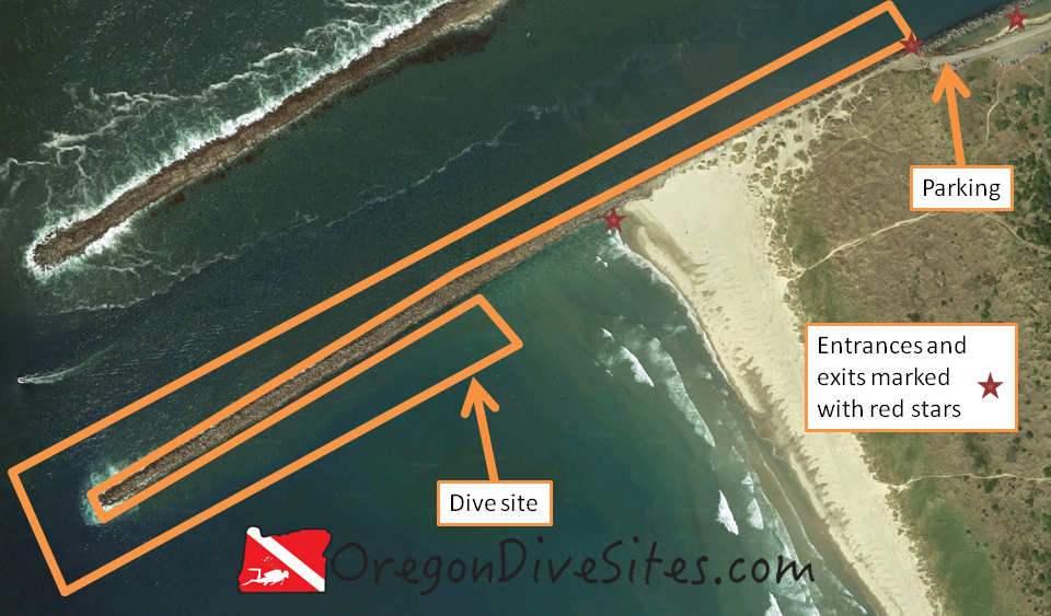 jetty tip site map